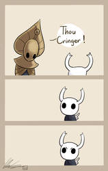 Hollow Knight: Godseeker Shenanigans by CottonCatRie