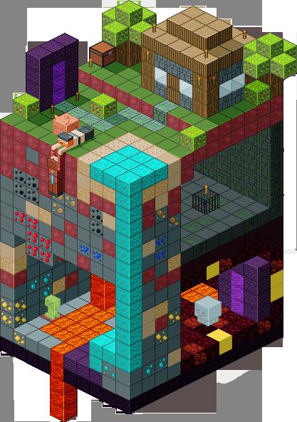 Nice Slice Of Minecraft By Sinister Starfeesh ...