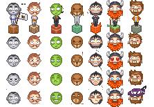 Yogcast/Hatfilms Sprites/Emojis Part 1 by Sinister-Starfeesh