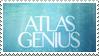 Atlas Genius stamp by catknip