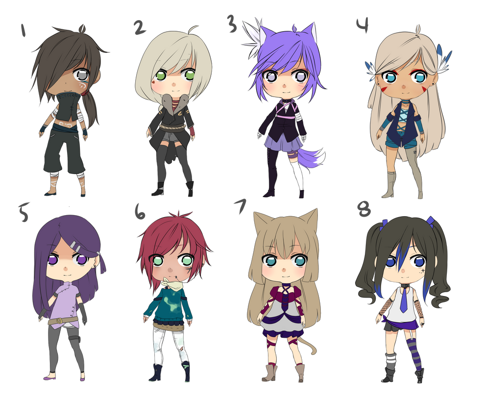 Adoptable Batch 8/8 Open by AiNim