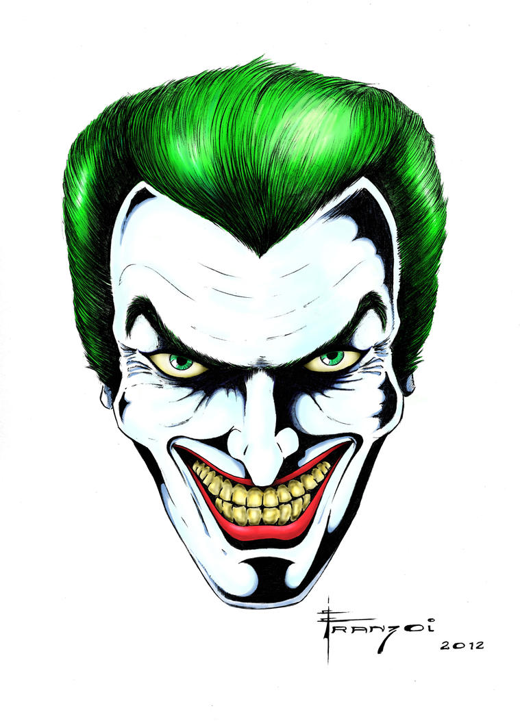 The Joker - Final Art by Franzoi on DeviantArt