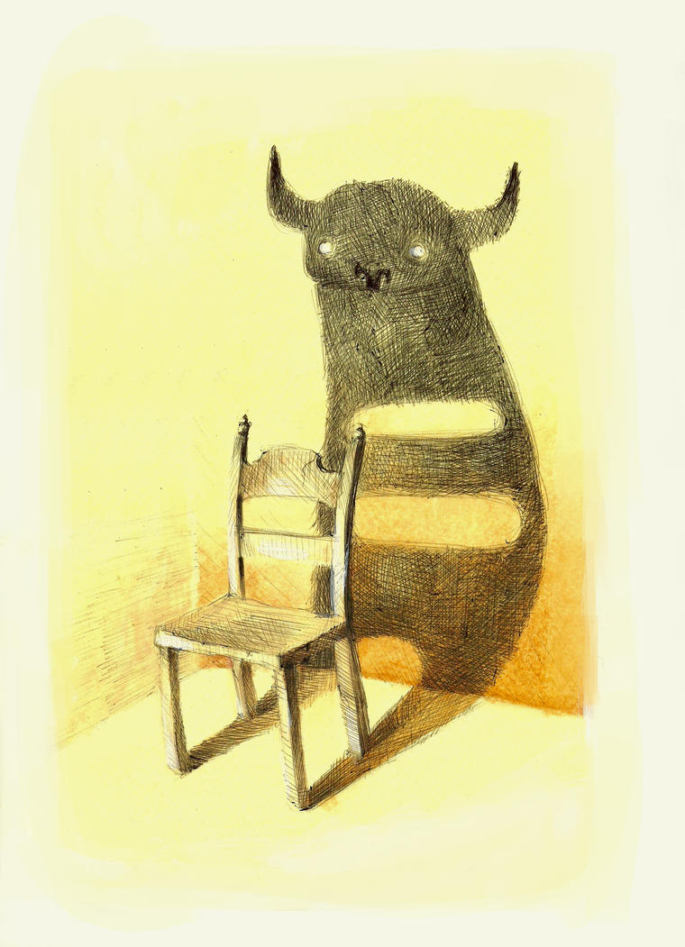 Chair Monster by alice-anne