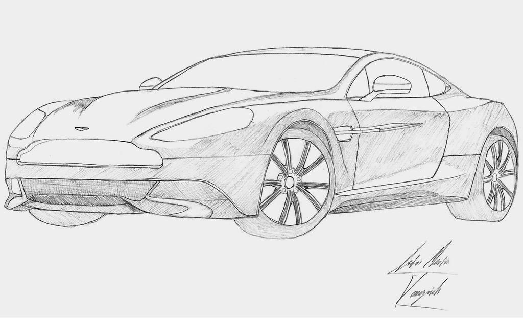 Aston Martin Vanquish by EssZX on DeviantArt