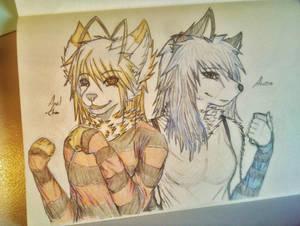 April and Aurora