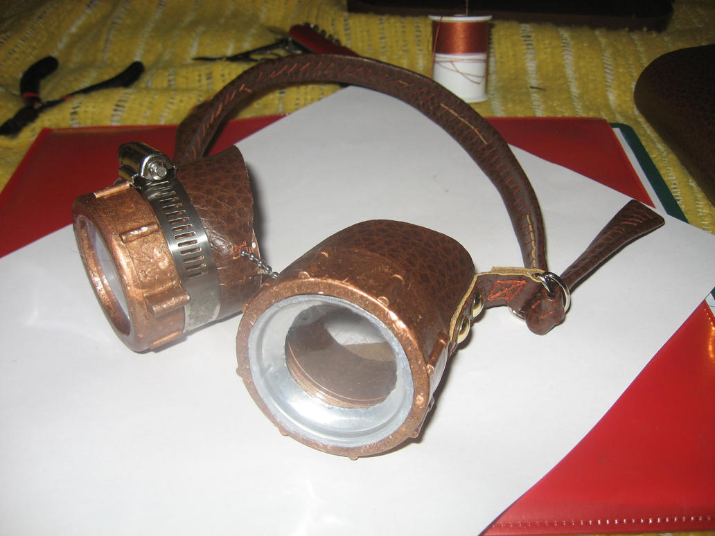 Steampunk Goggles by jetpilot55