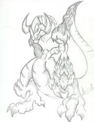 MY GREYMON DESIGN by AkagiGryphon