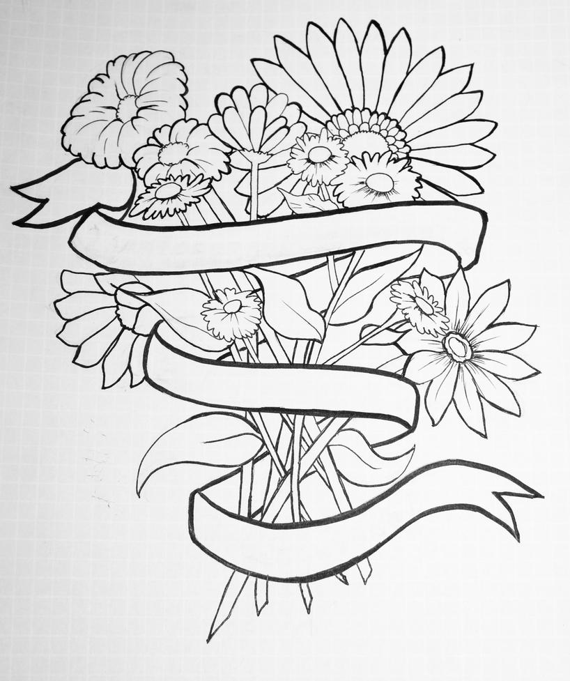 Bouquet Tattoo By Addena On Deviantart