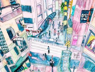 SoHo, Hong Kong by ceedeng
