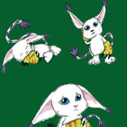 Gatomon doodles