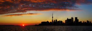 Toronto Pano by XxSakura-HimexX