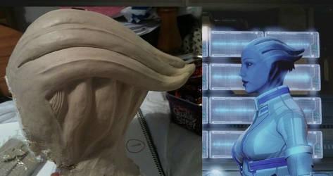 Asari Headpiece - Side