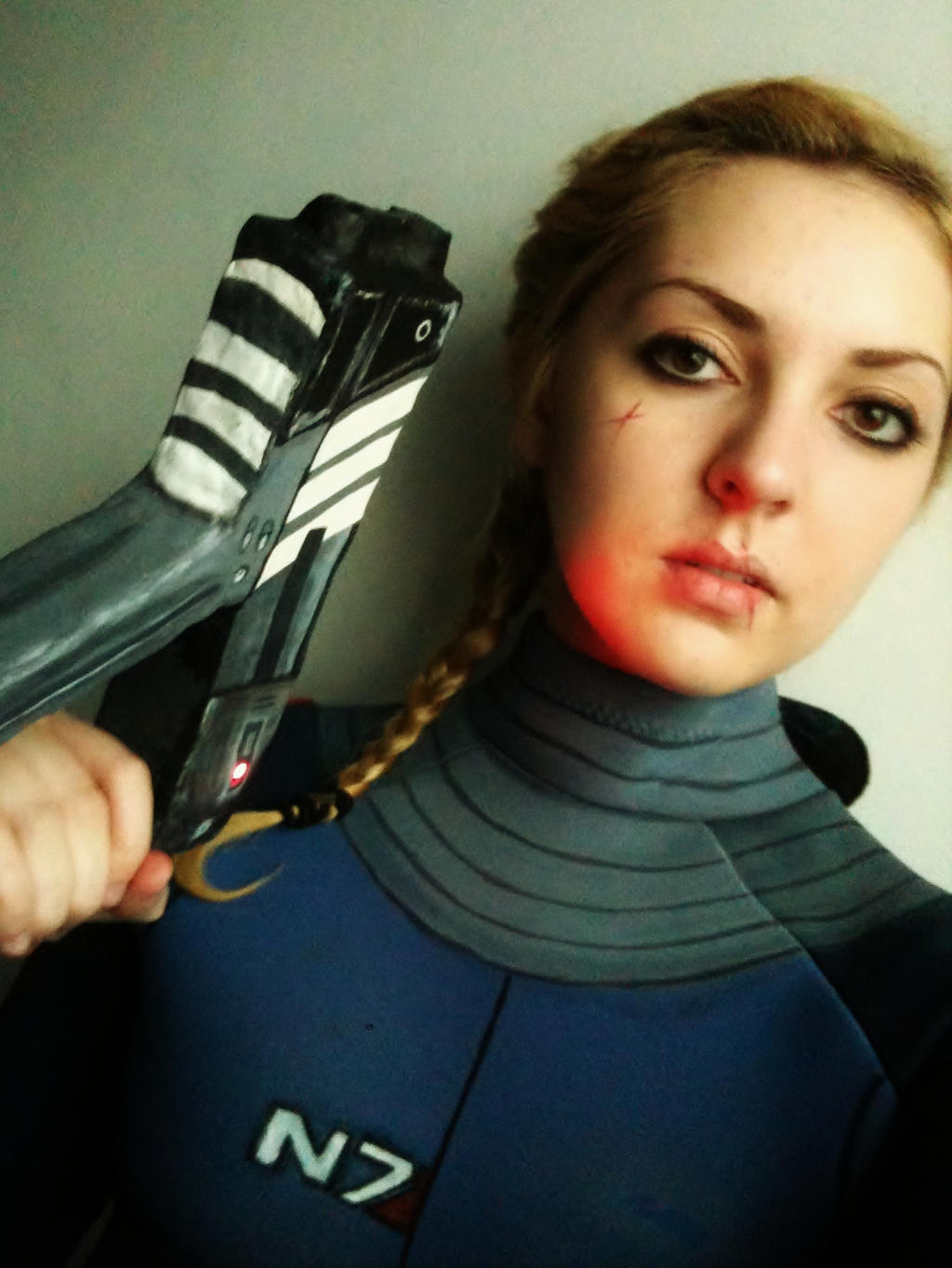 Mass Effect 1 Shepard by Vovea