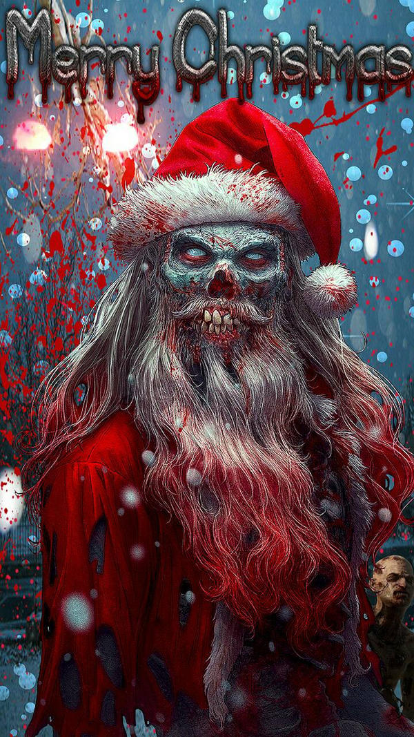 Scary Santa Claus by war4900