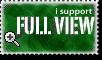 i support FULL VIEW by drawnfreak