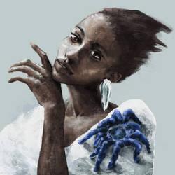 Blue Tarantula Spooder