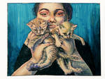 Look, kitties! by malin-markk