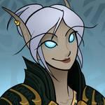 Blood elf death knight icon