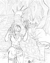 Lara Croft: Tomb Raider by MisterLegendary