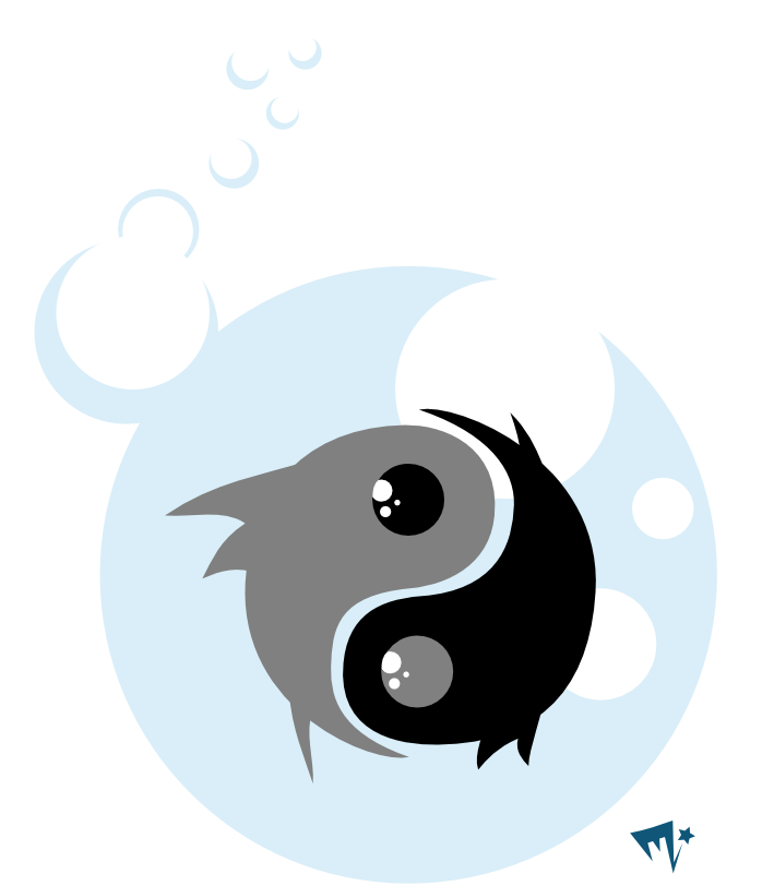 yin yang fish by cretanzia on deviantart. Black Bedroom Furniture Sets. Home Design Ideas