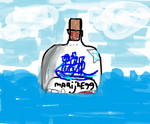 The ghostship in the bottle