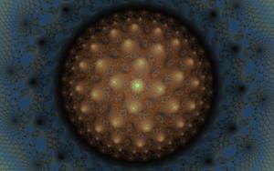 Cosmic Mandelbrot zoom by DinkydauSet