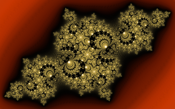 Spiral iteration Julia ghost