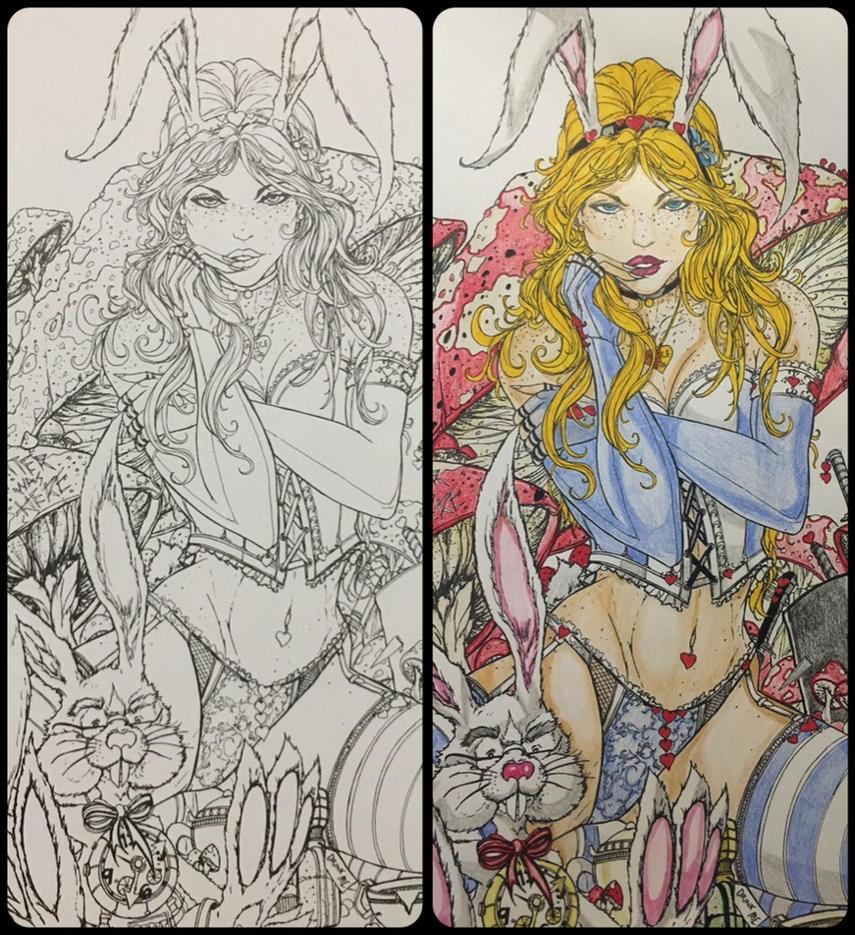 Grimm's Fairy Tale: Alice in Wonderland #3 by Phantomheero