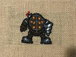 Bioshock Cross Stitch
