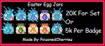 Easterjars Sample Wm by PoisonedCherries