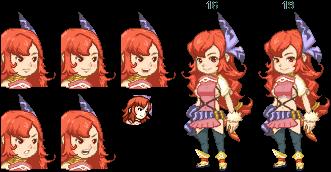 Le'nai - Ring Of Fate selkie female hero