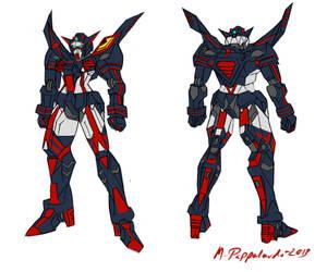 Gundam Senketsu [Kill La Kill] by Pappaprime