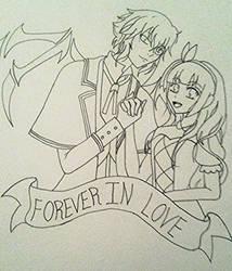 Forever in love by katt2015