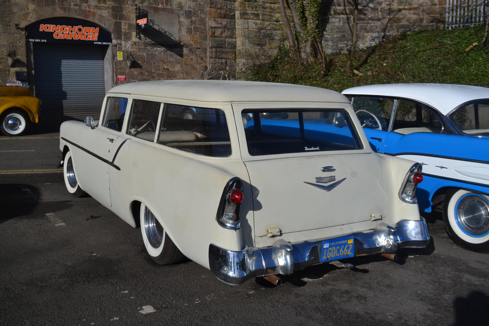 1956 Chevrolet 150 wagon by Supercooper17 on DeviantArt