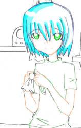 for my ID sketch color ver by Moetaku-chan