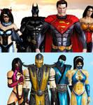 Mk vs DC injustice