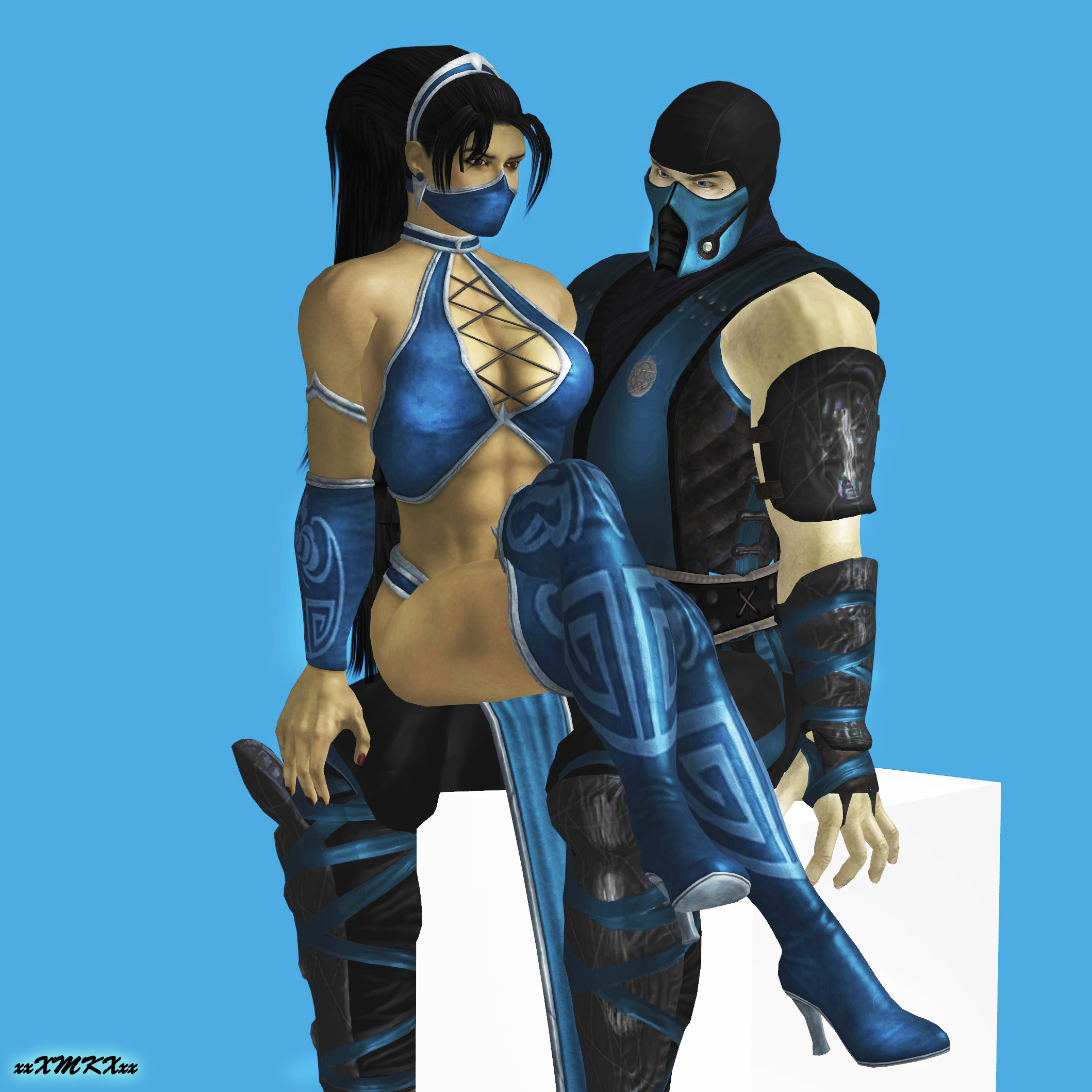 Subzero And Kitana Deviantart Gallery - Imagez co