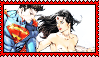 Superman x Wonder Woman stamp by Weskervit789