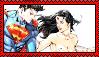 Superman x Wonder Woman stamp by Weskervit789