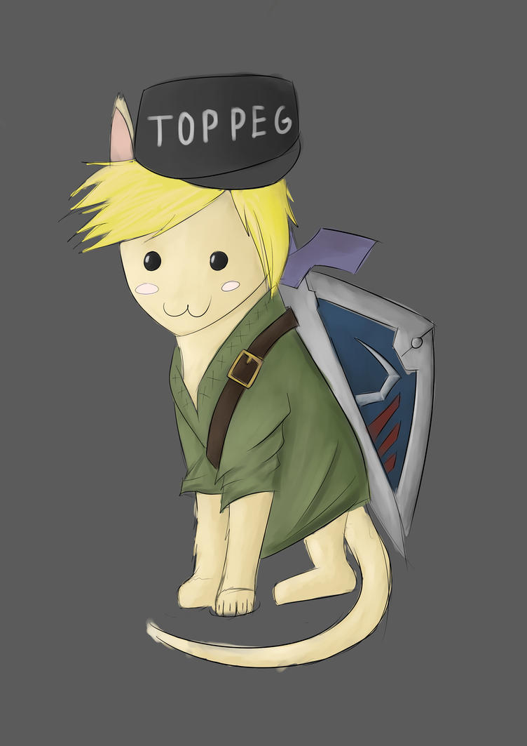 Link as a cat by dzm97