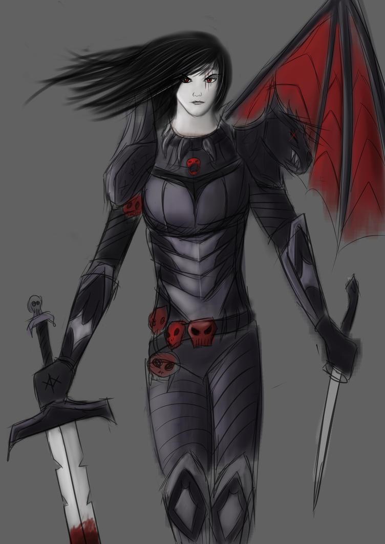 Demonic Warrior  WIP by dzm97