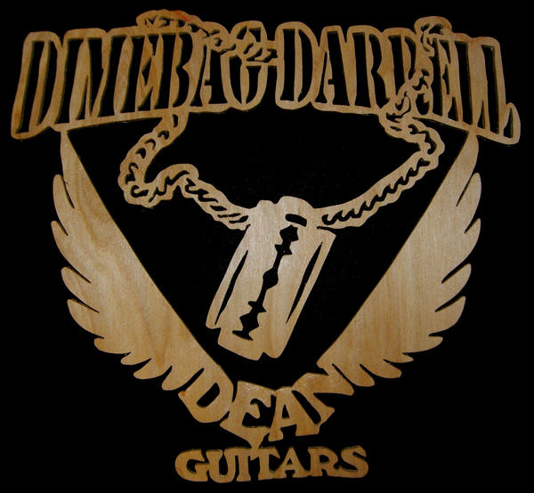 dimebag dean gitars logo by thrashantics on deviantart