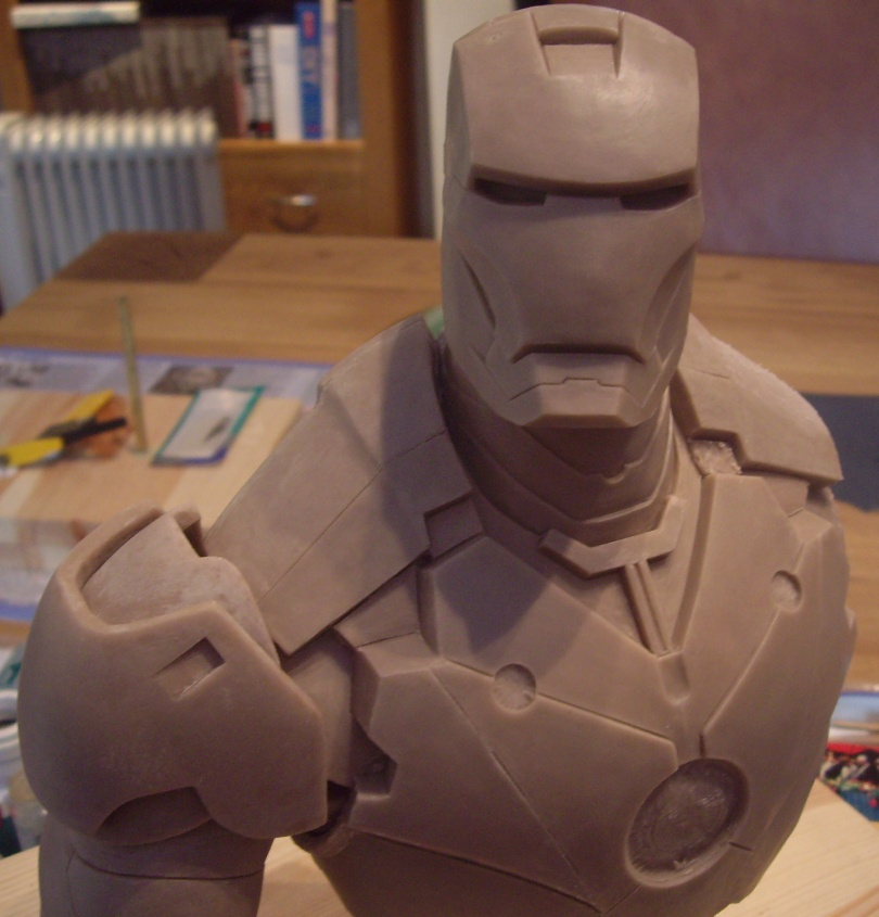 Iron Man Bust 11 by Mutronics