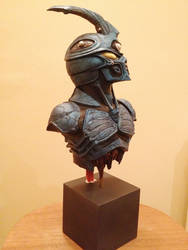Finished painted Guyver Bust
