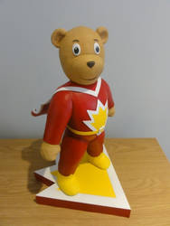 Superted Statue 2 by Mutronics