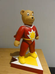 SuperTed statue 4 by Mutronics