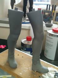 Mathilda Leon Statue in progress
