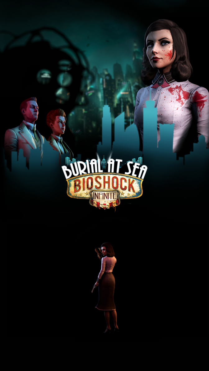 Bioshock Infinite : Burial At Sea - Poster by Iceey23