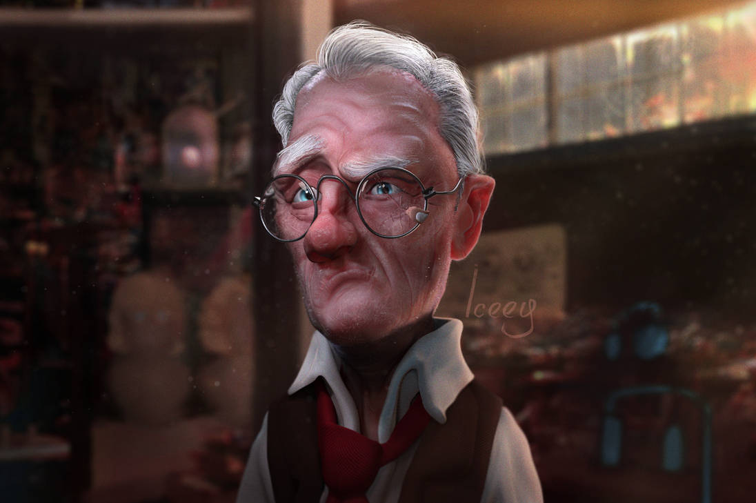 'The Scholar Inventor' (Pillar Sculpts - Season 1) by Iceey23
