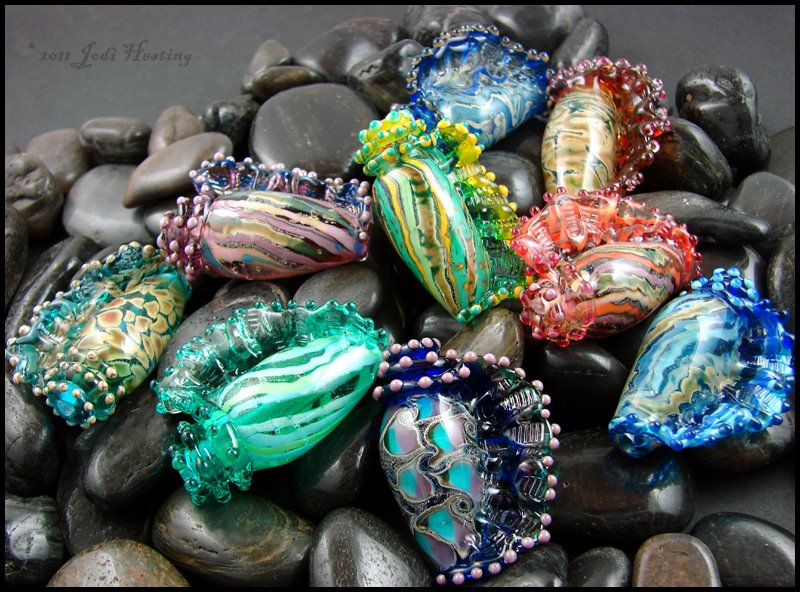 Glass Seashells by andromeda on DeviantArt